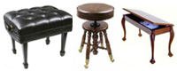 Piano Benches & Stools