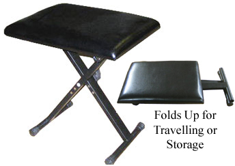 Fabulous Folding Piano Keyboard Bench 1 2 Price Free Shipping Caraccident5 Cool Chair Designs And Ideas Caraccident5Info