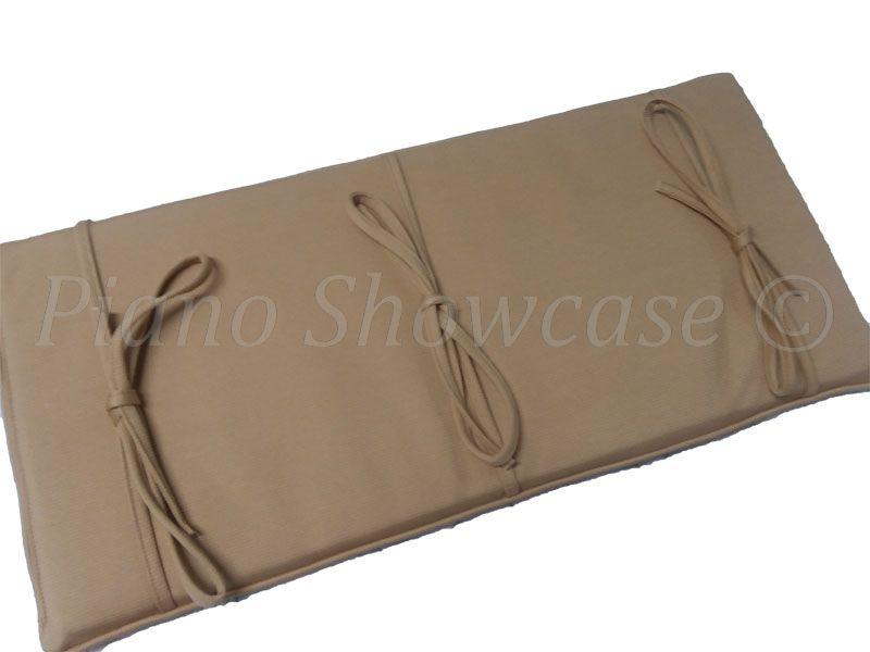 Premium Fabric Piano Bench Cushions Pads Free Shipping