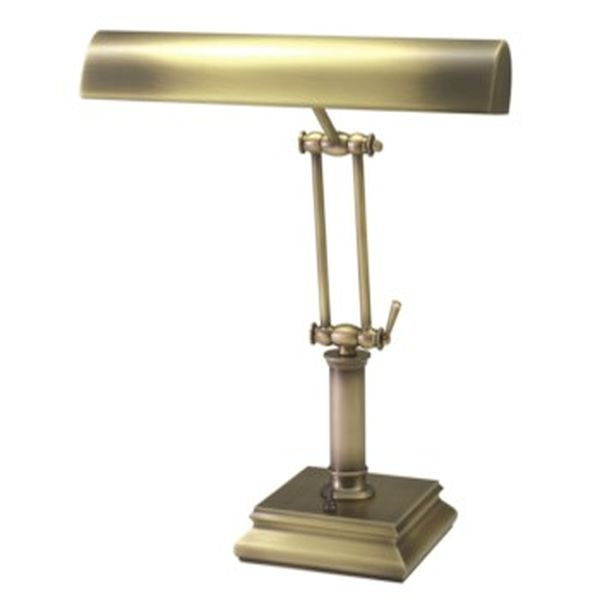 Antique Brass Piano Lamp For Upright Pianos