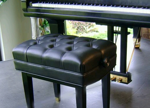 Jansen Adjustable Artist Piano Bench - Steinway Bench