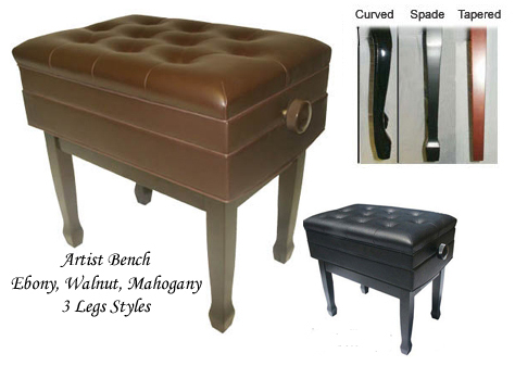 Marvelous Leather Artist Piano Bench 1 2 Price Free Shipping Frankydiablos Diy Chair Ideas Frankydiabloscom