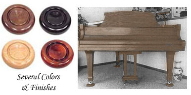 Royal Wood Piano Caster Cups Coasters - Casters for hardwood floors