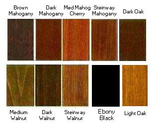 Wood Caster Cups 9 Custom Colors